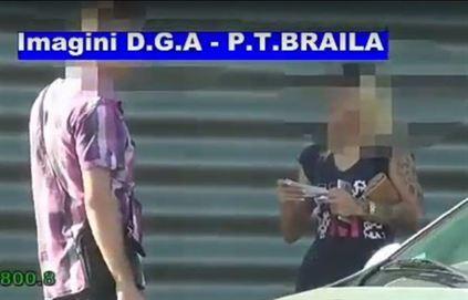 Concubina unui detinut din arestul IPJ Braila a incercat sa mituiasca un politist