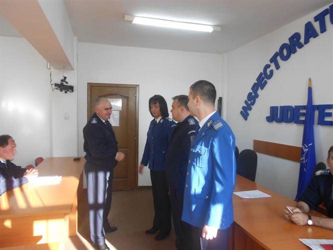 Avansari in grad la Jandarmeria Braila