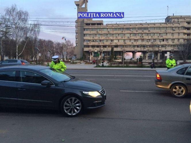 Actiuni ale politiei rutiere: Alege viata! Foloseste centura de siguranta