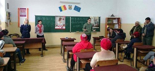 """Campania """"Stop abuzului sexual asupra minorilor!"""" in Braila"""