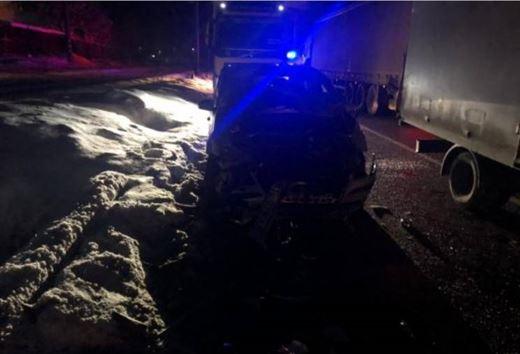 Brăilean implicat într-un accident pe DN1