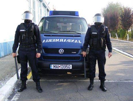 Jandarmii braileni asigura ordinea de Zilele Brailei