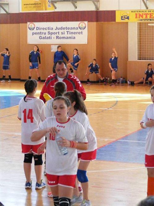 Echipa de handbal junioare IV de la LPS Braila s-a calificat la turneul semifinal
