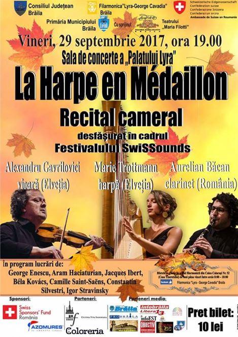 Recital cameral de exceptie la Filarmonica Lyra