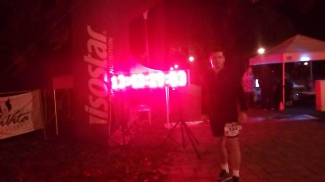 Braileanul Costel Margarit participa la hipermaratonul de 24 de ore de la Timisoara