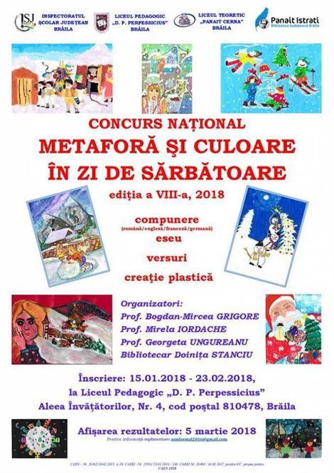 Concurs national de creație plastică și literară