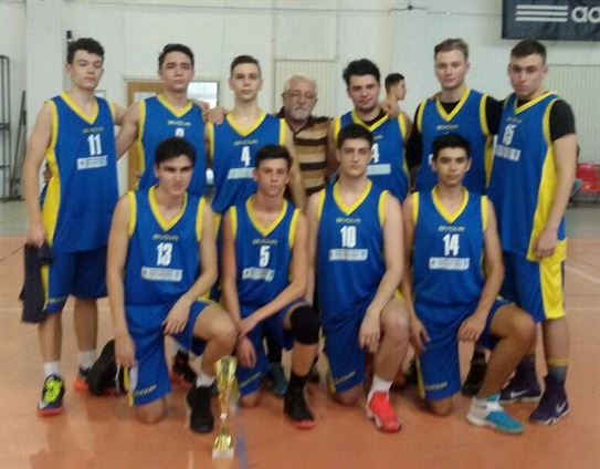 Colegiul Balcescu a castigat faza judeteana la baschet baieti nivel liceal