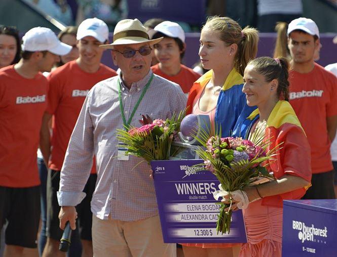 perechea Bogdan-Cadantu invingatoare la BRD Bucharest Open