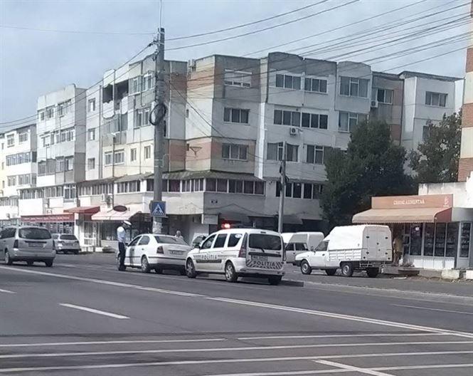 Actiuni in strada ale politistilor