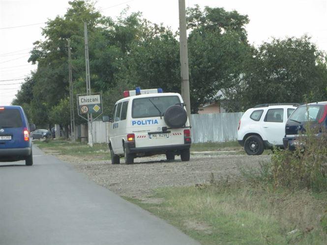 Actiuni de amploare ale politistilor in comuna Chiscani
