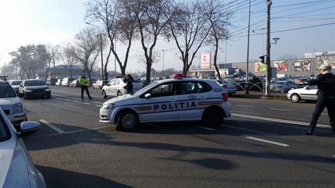 Peste 800 de polițiști vor fi în stradă în perioada Anului Nou