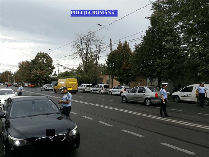 14 permise suspendate si amenzi de 84.000 de lei aplicate de politistii de la rutiera