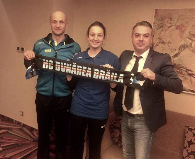 Eliza Buceschi a semnat cu HC Dunarea Braila