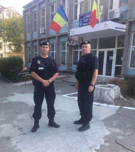 Jandarmii braileni prezenti la deschiderea anului scolar