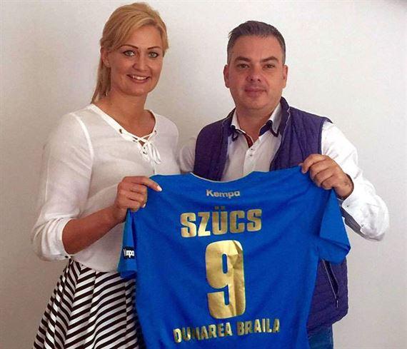 Gabriella Szucs a semnat cu HC Dunarea Braila