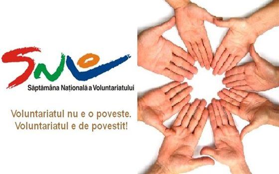 Ample actiuni cu ocazia Saptamanii Nationala a Voluntariatului