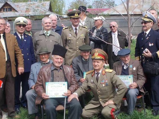 Veteranii de razboi omagiati la Cercul Militar Braila